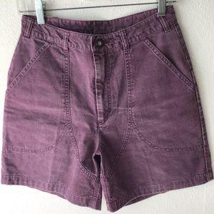 Patagonia Plum Denim Shorts!